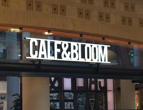 Calf&Bloom lichtreclame