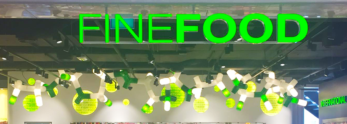 LEDSign project: FineFood